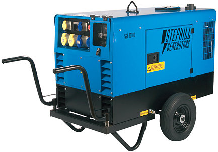 10.0 kVA Diesel Generator Stephill SSD10000