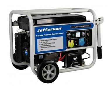 5.0 KVa Petrol Generator Jefferson JEFGENPET55EL
