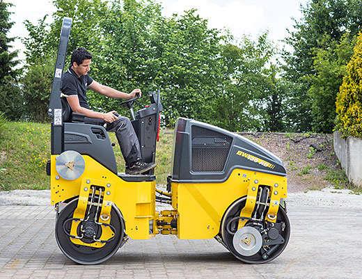Tandem Vibrating Roller DYNAPAC Bomag BW120