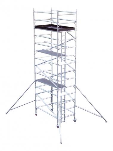 Aluminium Mobile Access Tower - 6.0 M High