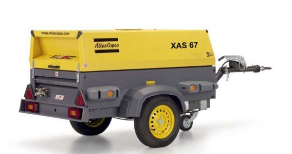 Two Tool Compressor Atlas Copco XAS67