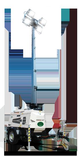 Towable Lighting Tower Genset VT1