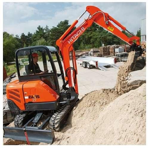 3 Tonne Mini Excavator Hitachi ZX27-3
