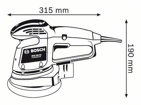 Orbital Sander Bosch GES 150 AC