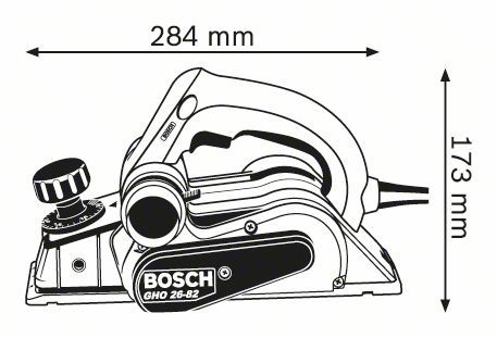 "Electric Planer - 3"" Bosch GHO26-82"