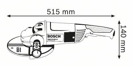 "9"" Electric Angle Grinder Bosch GWS22-230"