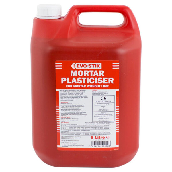 EVO-STIK MORTAR PLASTICISER 5L